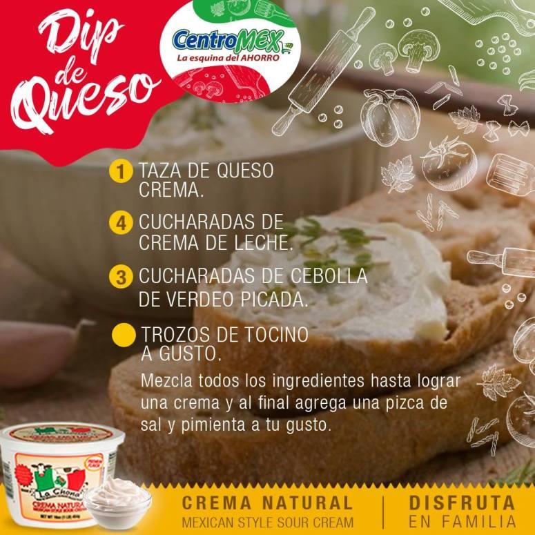 DIP DE QUESO